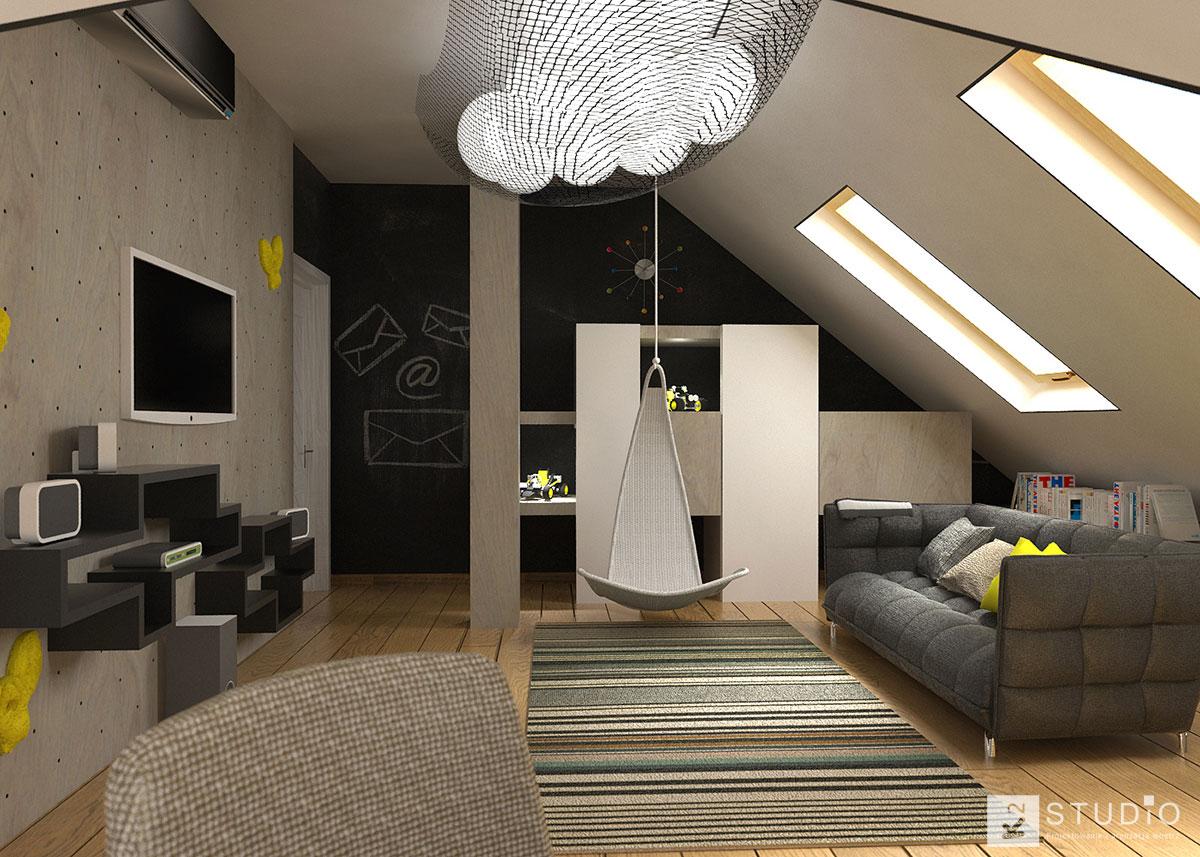 pokoje dzieci ce k2 studio. Black Bedroom Furniture Sets. Home Design Ideas